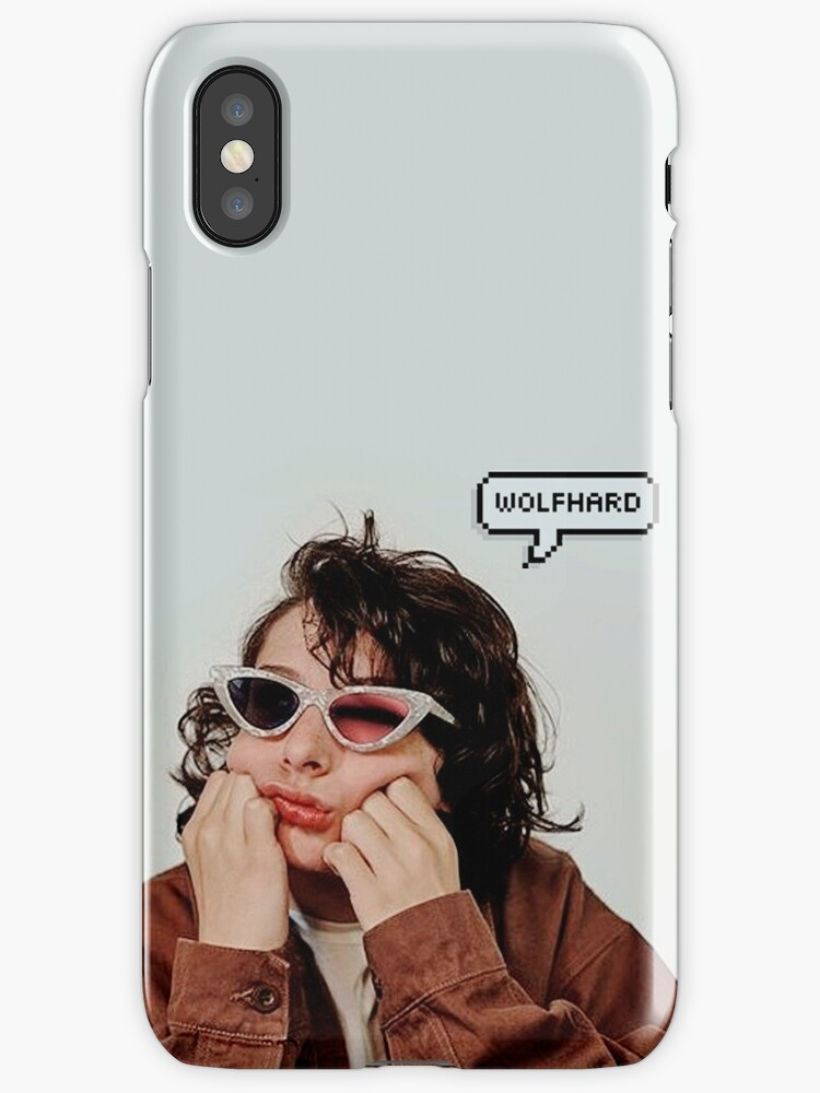 Quot Finn Wolfhard Quot Iphone Cases Amp Skins By Ilusionismx