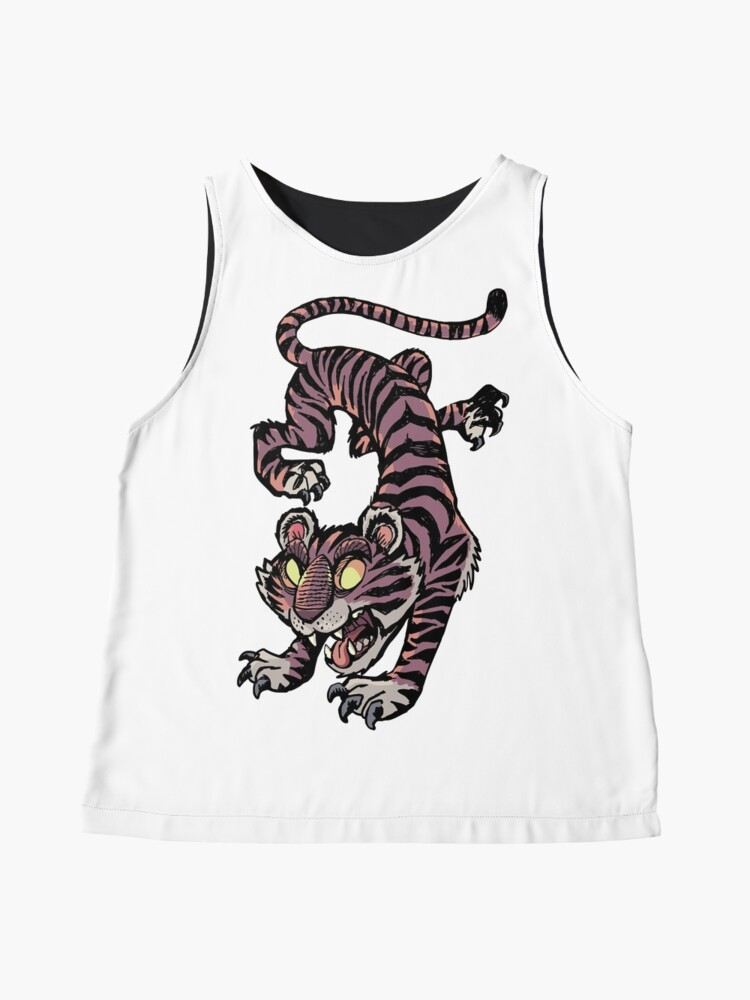 Alternate view of Tiger Jump Sleeveless Top