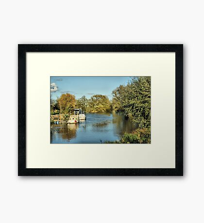 Grove Ferry Framed Print
