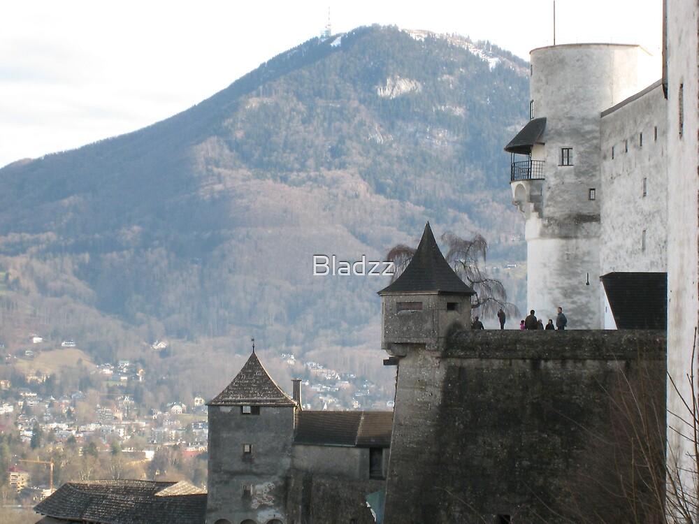 Festung Hohensalzburg, Salzburg, Austria by Bladzz