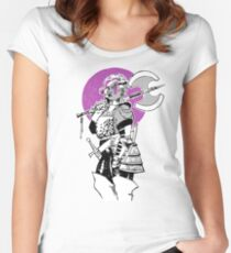 Purple Warrior - Labrys Amazon - Queer Fighter Women's Fitted Scoop T-Shirt