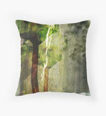 Dandelion Two Throw Pillow