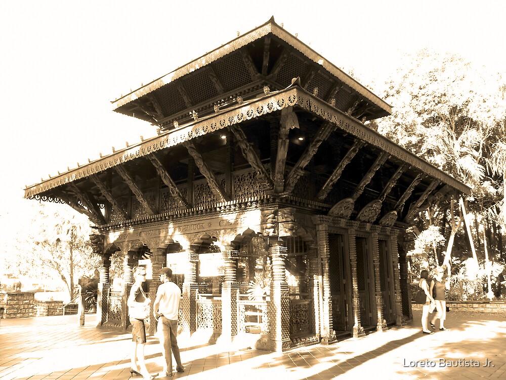 Nepal Peace Pagoda (Brisbane, Australia) by Loreto Bautista Jr.