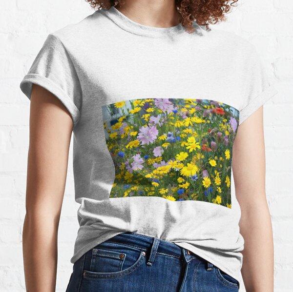 Closeup on Wildflowers Classic T-Shirt