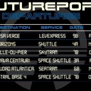 Futureport Departures - Horizons by Bt519