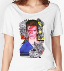 Bowie Stardust Women's Relaxed Fit T-Shirt