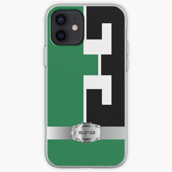 S.P.D. Green Phone Case iPhone Soft Case