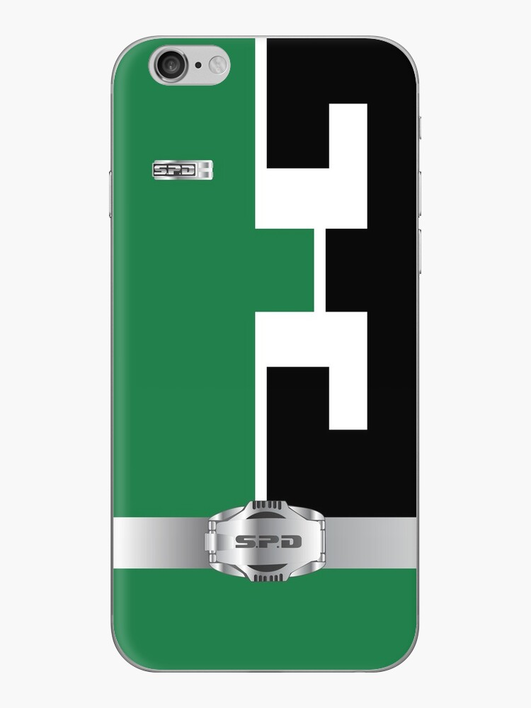 S.P.D. Green Phone Case by IAmAlexaJericho