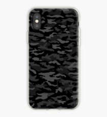NEW AGE BLACK CAMOUFLAGE DESIGN iPhone Case