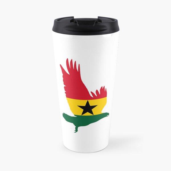 Flag Eagle of Ghana Travel Mug