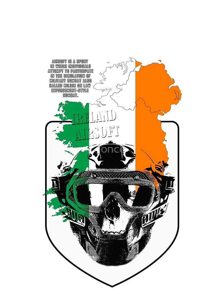 Airsoft Ireland T-shirts by jonce