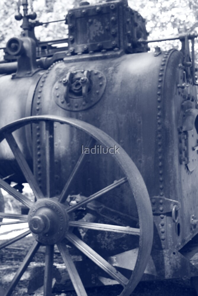 steam engine by ladiluck