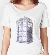 Tardis - Dr Who Women's Relaxed Fit T-Shirt