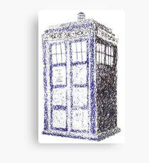 Tardis - Dr Who Canvas Print