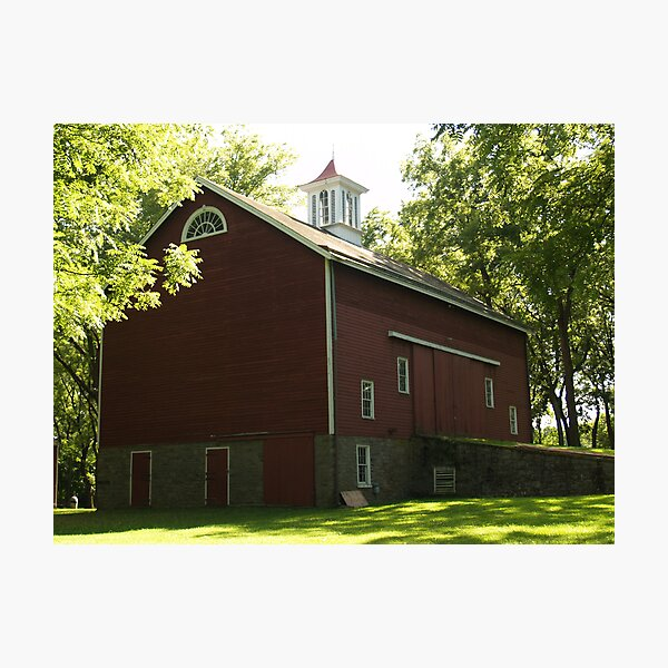 Erwin Stover Barn, Tinicum, PA Photographic Print
