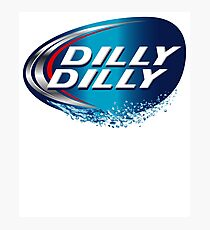 dilly dilly bud light meaning T-shirts	 Photographic Print