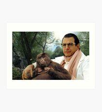 Jeff Goldblum Art Print
