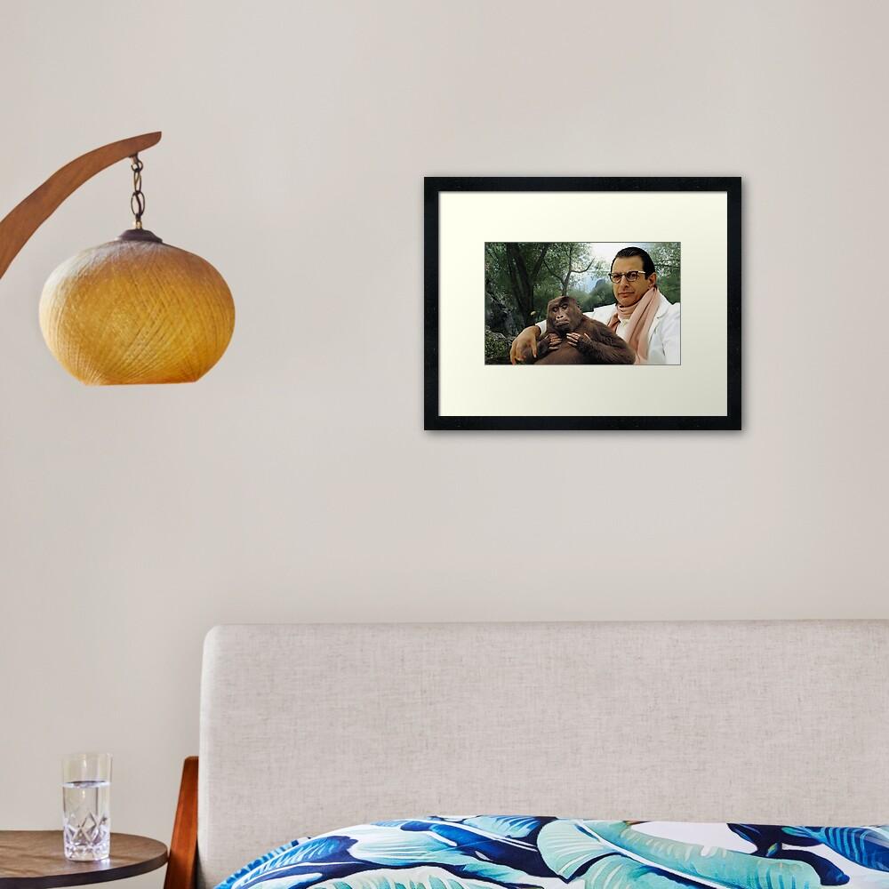 Jeff Goldblum Framed Art Print