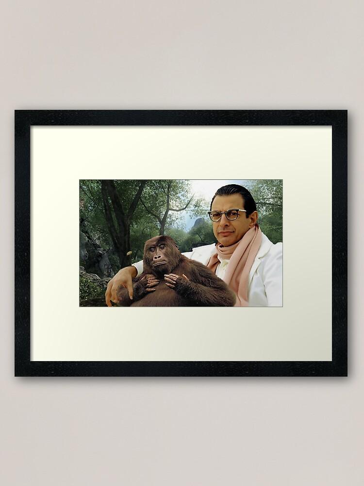 Alternate view of Jeff Goldblum Framed Art Print