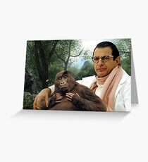 Jeff Goldblum Greeting Card