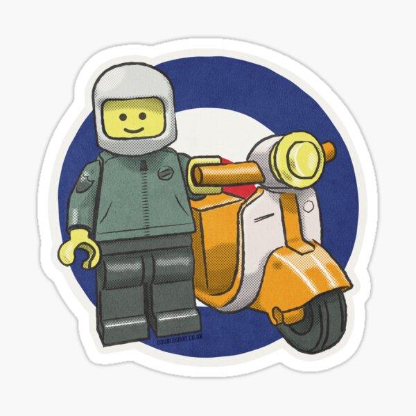 Bricktoy Scooterboy Sticker