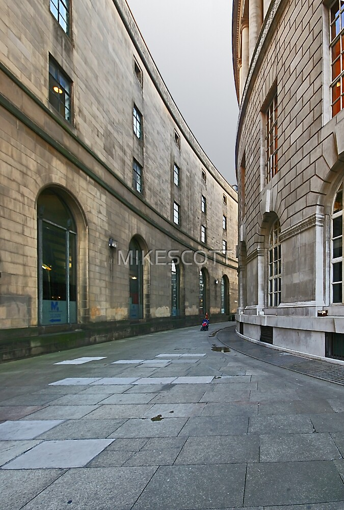 MANCHESTER CENTRAL LIBRARY  by MIKESCOTT