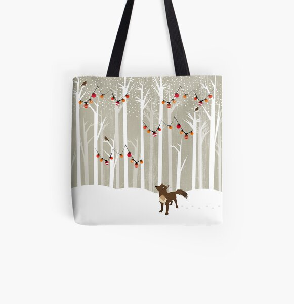 December All Over Print Tote Bag