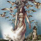 Birds on an Island, Shimmer #36 cover by bethwodzinski