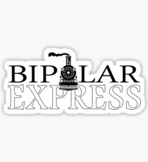 Bipolar Express Sticker