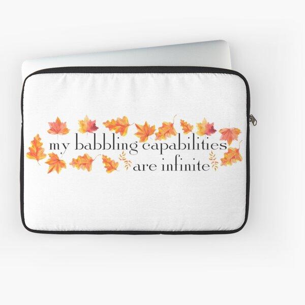 MY BABBLING CAPABILITIES Laptop Sleeve