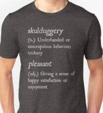 """""""Skulduggery Pleasant"""" Definition (White) Unisex T-Shirt"""