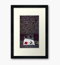 Vietnam Memorial Framed Print