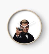 Leo as Jay Gatsby Clock