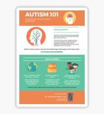 Autism 101 Sticker