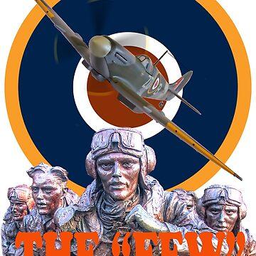 Battle Of Britain Tee Shirt - The Few by Arrowman