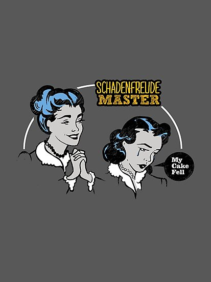 Funny Retro 1950's: Schadenfreude Master by BootsBoots