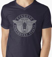 Piaggio Pontedera Italia (light print) Men's V-Neck T-Shirt