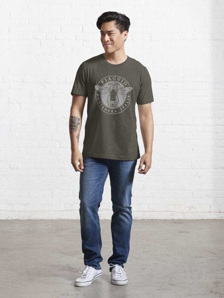 Alternate view of Piaggio Pontedera Italia (light print) Essential T-Shirt