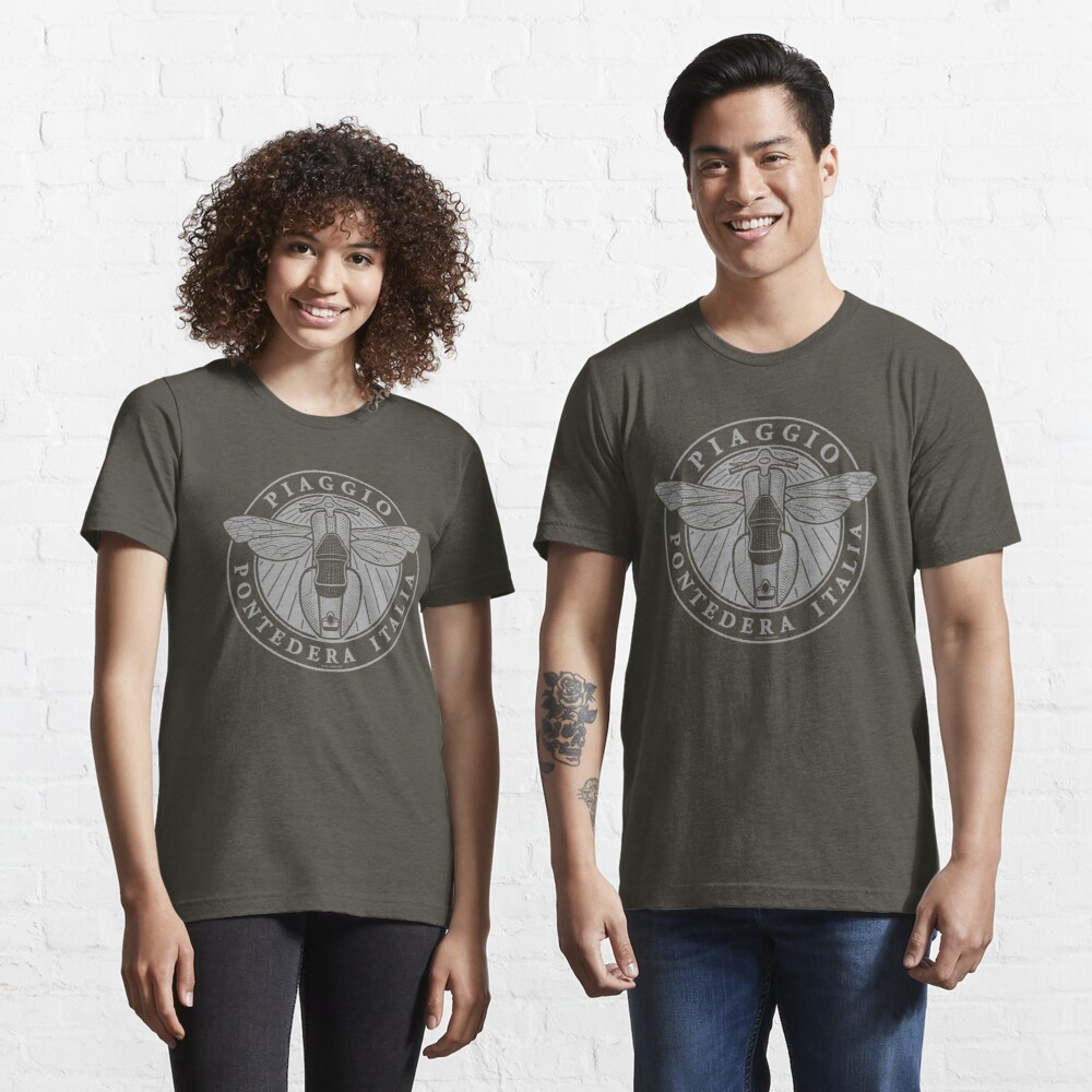 Piaggio Pontedera Italia (light print) Essential T-Shirt
