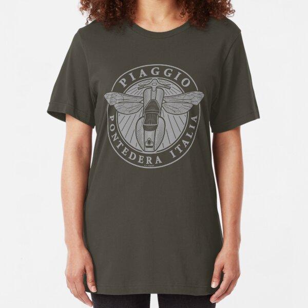 Piaggio Pontedera Italia (light print) Slim Fit T-Shirt