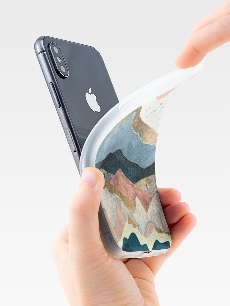 Alternate view of Golden Peaks iPhone Case & Cover
