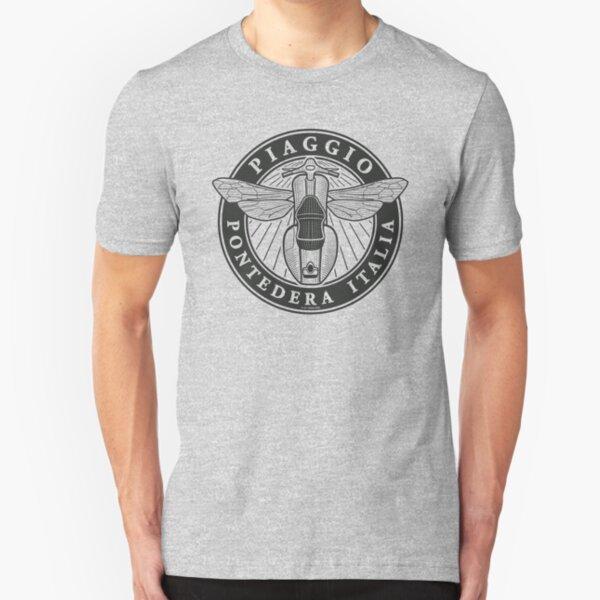Piaggio Pontedera Italia (dark print) Slim Fit T-Shirt