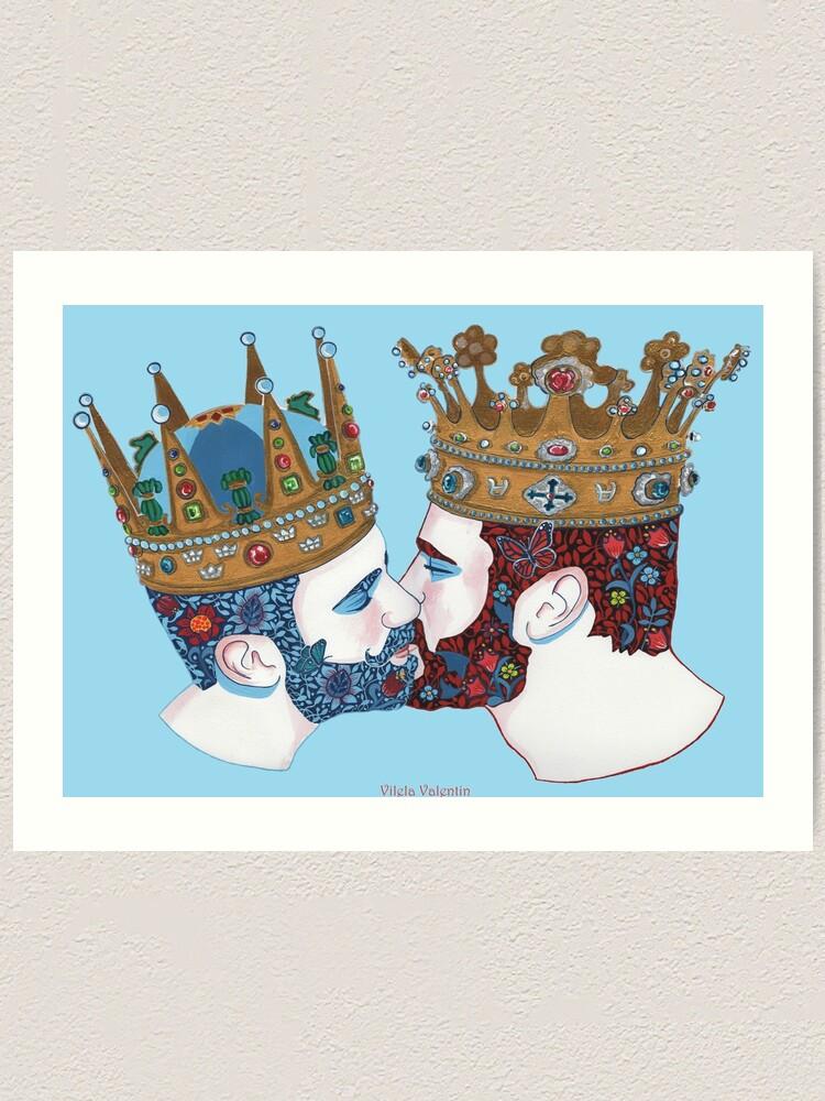 Alternate view of zwei Königreiche  Art Print