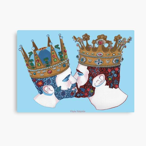 zwei Königreiche  Canvas Print