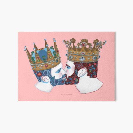 zwei Königreiche  Art Board Print