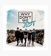 why do we - cute boys Photographic Print
