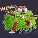 «Auburn Fans saltando los setos» de Statepallets