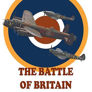 The Battle of Britain Memorial Flight Tee Shirt 1 by Arrowman