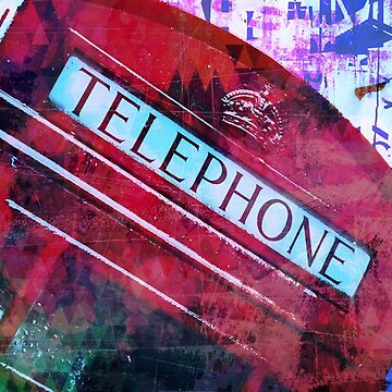 Red telephone by yoloin