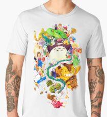 Childhood Memories Collage Men's Premium T-Shirt